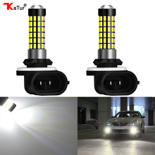 2 Pieces H27 881 Led Bulb For Cars H27W/2 H27W2 Auto Fog Light DRL 780Lm 12V LED Bulbs Driving Daytime Running