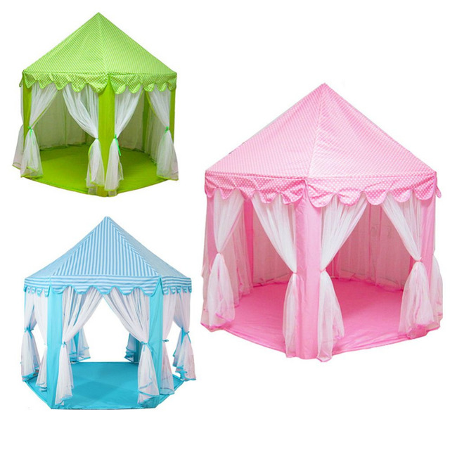 Lovely Castle Cute Portable Hexagon Activity Playhouse Girls Boys Play Toy Tent For Children Kids Outdoor  sc 1 st  AliExpress.com & Lovely Castle Cute Portable Hexagon Activity Playhouse Girls Boys ...