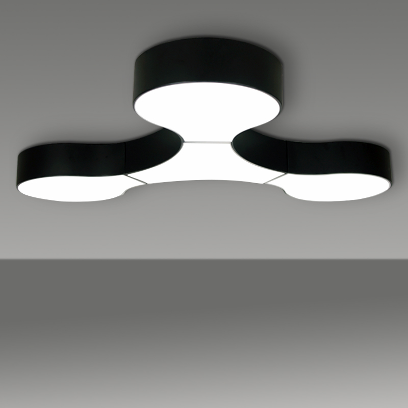 LED ceiling lights living room bedroom restaurant balcony combination Modern office lighting ceiling lamp white/ black lamps ZALED ceiling lights living room bedroom restaurant balcony combination Modern office lighting ceiling lamp white/ black lamps ZA