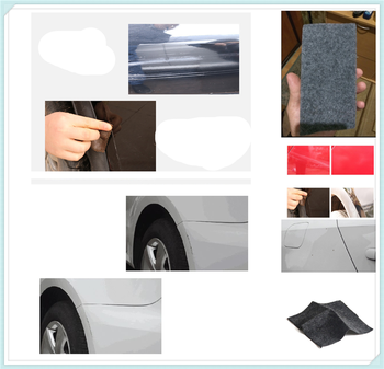 Auto parts light paint scratches remover wear surface repair rag for BMW all series F-series E46 E90 F09 1 2 3 4 5 6 7 X E image