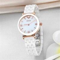 2015fashion Casual KEZZI Brand High Quality Ceramic Rhinestone Luxury Women Clock Female Elegant Wrist Ladies Quartz