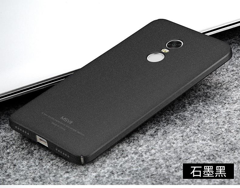 Luxury Case For Xiaomi Redmi Note 4X Pro (4G RAM,64G ROM) Hard PC Scrub  Back Cover For Xiomi Redmi Note4x Pro Cases