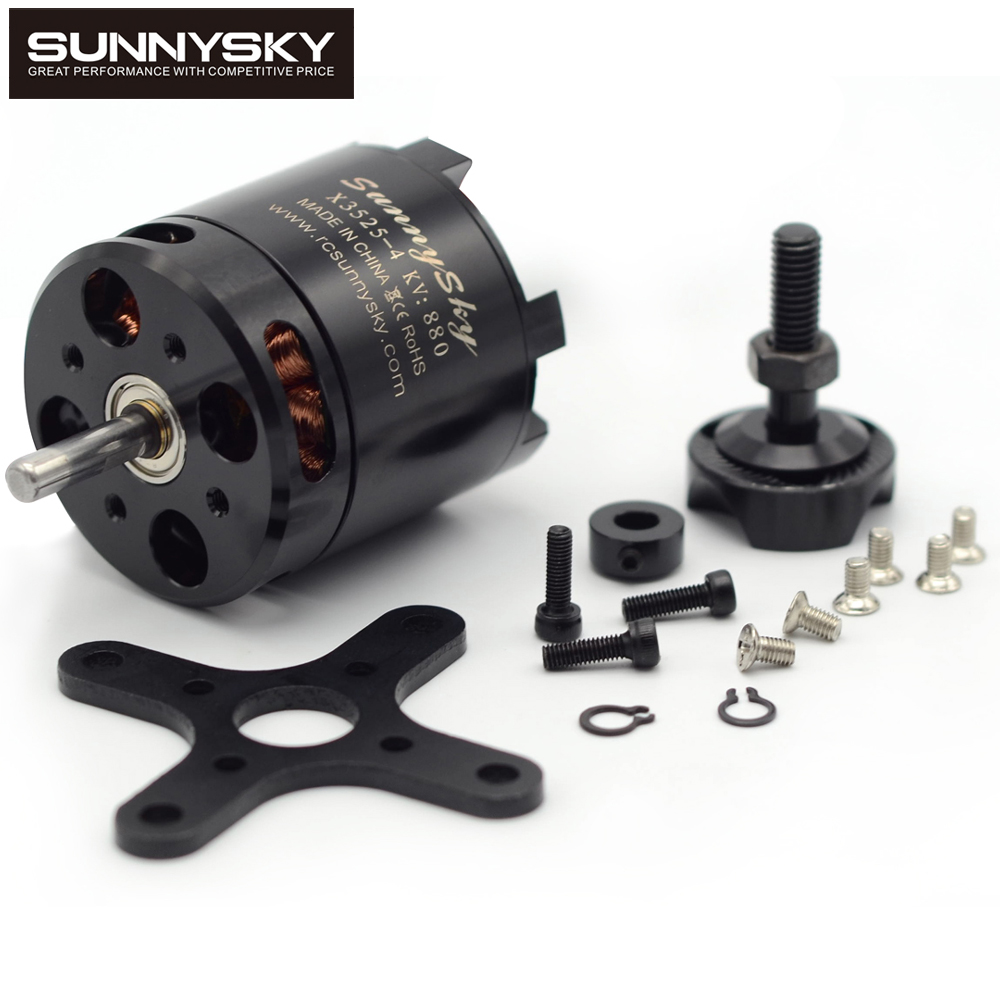 Original SunnySky X3525 520KV/720KV/880KV Brushless Motor X-series for FPV Multicopter RC Quadcopter 2017 dxf sunnysky x2206 1500kv 1900kv outrunner brushless motor 2206 for rc quadcopter multicopter
