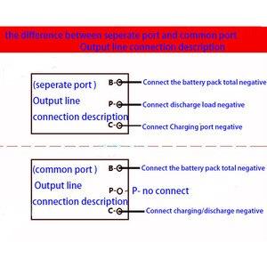 Image 3 - eBike 7S 24V 10S 36V 13S 48V 16S 17S 64V 21S 72V Lithium Battery Protection Board Li ion Lipo ion BMS PCM Packs 15A 30A 50A 60A