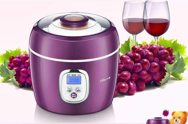 Chinaguangdong الدب SNJ-580 العنب النبيذ نبيذ الأرز آلة ليبن آلة الزبادي المنزلية 2L 110-220-240