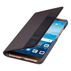 Image 5 - Originele Huawei Smart View Cover Telefoon Bescherming Cover Voor Mate 10 Mate 10 Pro Mate10 Flip Case Behuizing Slaapt Functie case