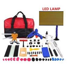 PDR Tools Paintless Dent Repair Kit Car Dent Removal Household Tool Set Dent Puller PDR Lamp Car Tool Kit For Auto Repair