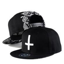 High Quality Fashion Cap Kpop Hat Mans Hip Hop Men Bone Streetwear Casquette Black