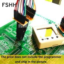 150mil 300mil SOP16 Fixture SPI FLASH Fixture SOP16 to DIP8 to DIP16 Fixture test socket cm6800g sop16