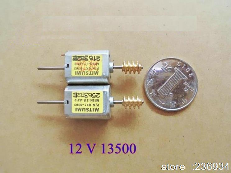Mitsumi 030 miniature dc motor 12v13500 rpm toy motor for Diy electric motor repair