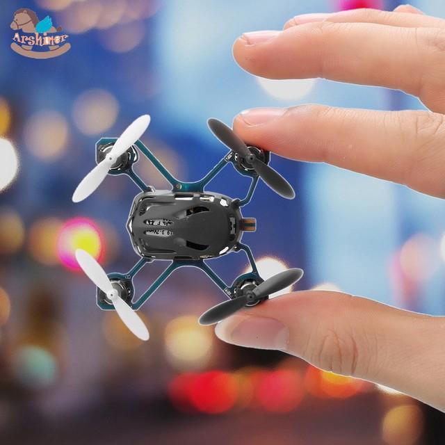Nuevo Mini RC Quadcopter Drone RTF Q4 H111 Nano 2.4 GHz Sistema de Radio de $ Number Canales de Funcionamiento del Controlador Remoto