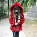 100% Real Genuine Children/Adult Hooded Rex Rabbit Fur Coat Jacket Clothing fur Outwear