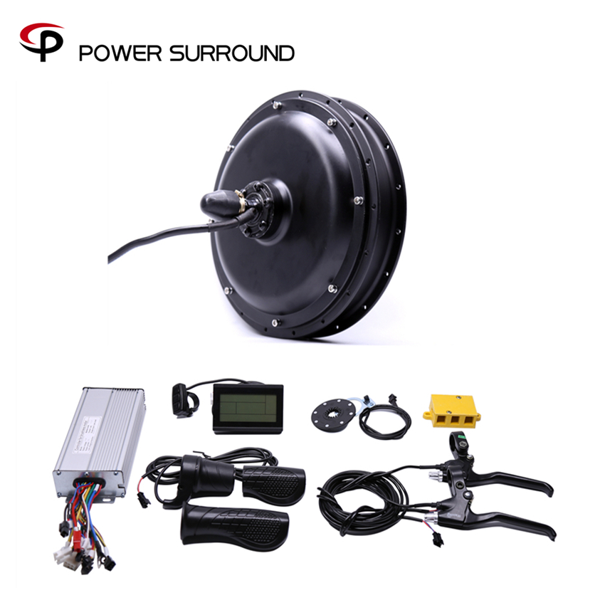 2018 Free shipping 48V 1000W rear high speed Motor Electric Bicycle eBike Conversion Kits motor wheel