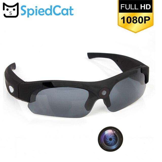 0f304905e HD 1080 p Óculos De Sol Câmera 120 Graus Grande Angular Gravador de Vídeo  Esporte Mini