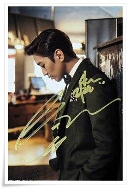 eric Shinhwa Eric autographed signed photo UNCHANGING  4*6 inches authentic freeshipping  01.2017