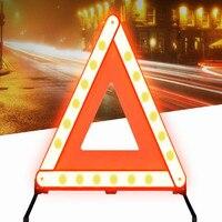 Xe công cụ khẩn cấp hiệu đường Mạnh Mẽ phản quang cấp dấu hiệu an toàn xe hơi kit vận chuyển miễn phí