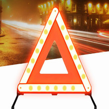 car emergency tool road signs Strong reflective sign safety kit free shipping
