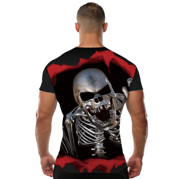 Blood Skull T shirt