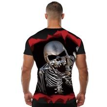 Brand New Men's Bloody Skull T-Shirt