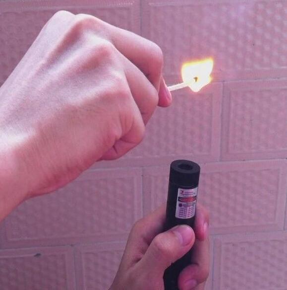 NEW high power 405nm purple blue violet laser pointer focusable burning black match/cigarettes Uv counterfeit detector 1000m
