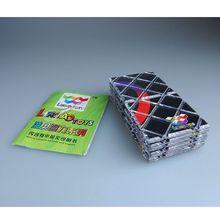LingAo 12 Панелей 5 Кольца Мастер Магия Складной Извилистая Головоломка Куб 12 Шт. Черный