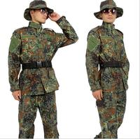 German camouflage suite Woodland Army uniform German wwii uniforms Flecktarn