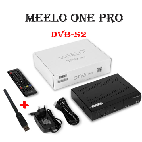 USB WIFI+MEELO+ ONE PRO 1080P Full HD DVB-S2 Satellite Receiver H.265/HEVC/AVC Linux set top box Support YouTube Ccam Enigma2 meelo one pro 1080p full hd dvb s2 satellite receiver h 265 hevc avc linux sat receptor support cccam iptv youtube m3u newcam