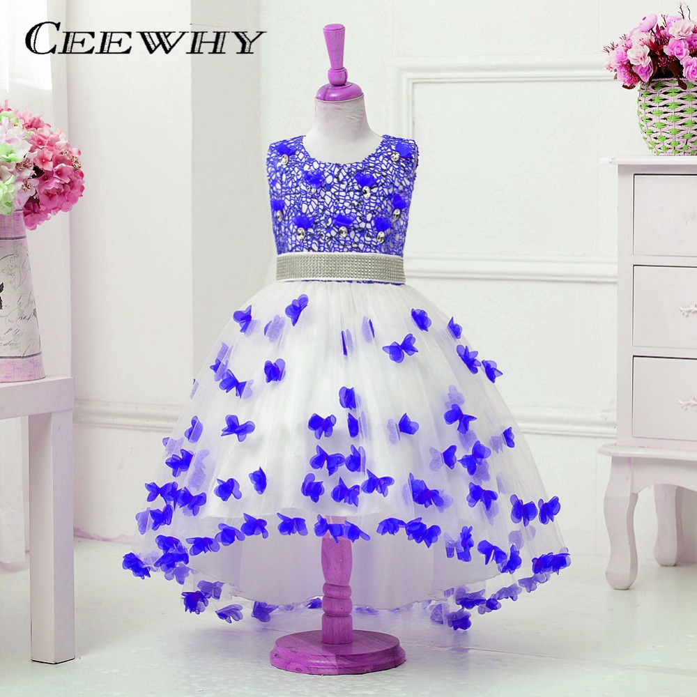 CEEWHY Ball Gown Colorful Princess   Girls     Dress   Prom Party Formal   Dress   Vestido Daminha First Communion   Flower     Girl     Dresses