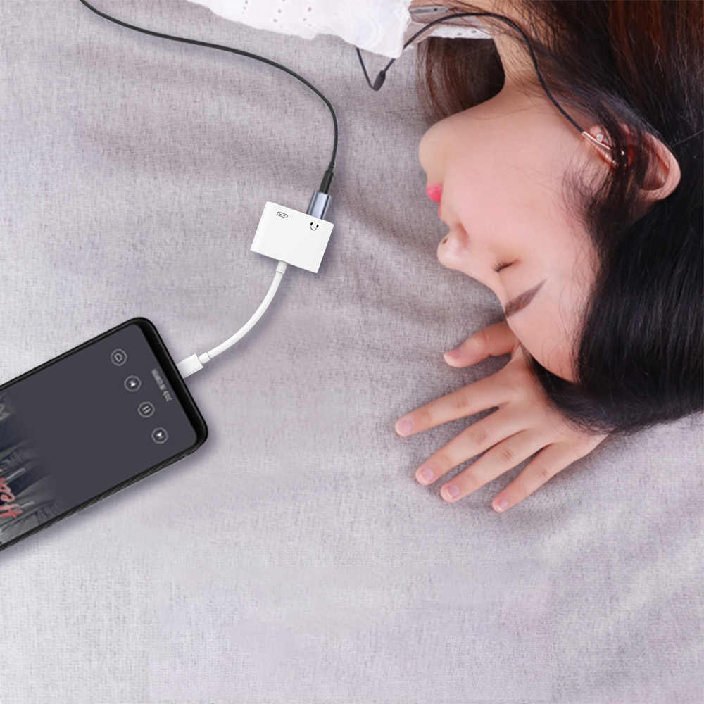 5 個タイプ C オス 3.5 ミリメートルメスステレオイヤホンジャックデジタルオーディオ充電アダプタ Huawei 社 P20 Google ピクセル 2/2XL/3/3XL