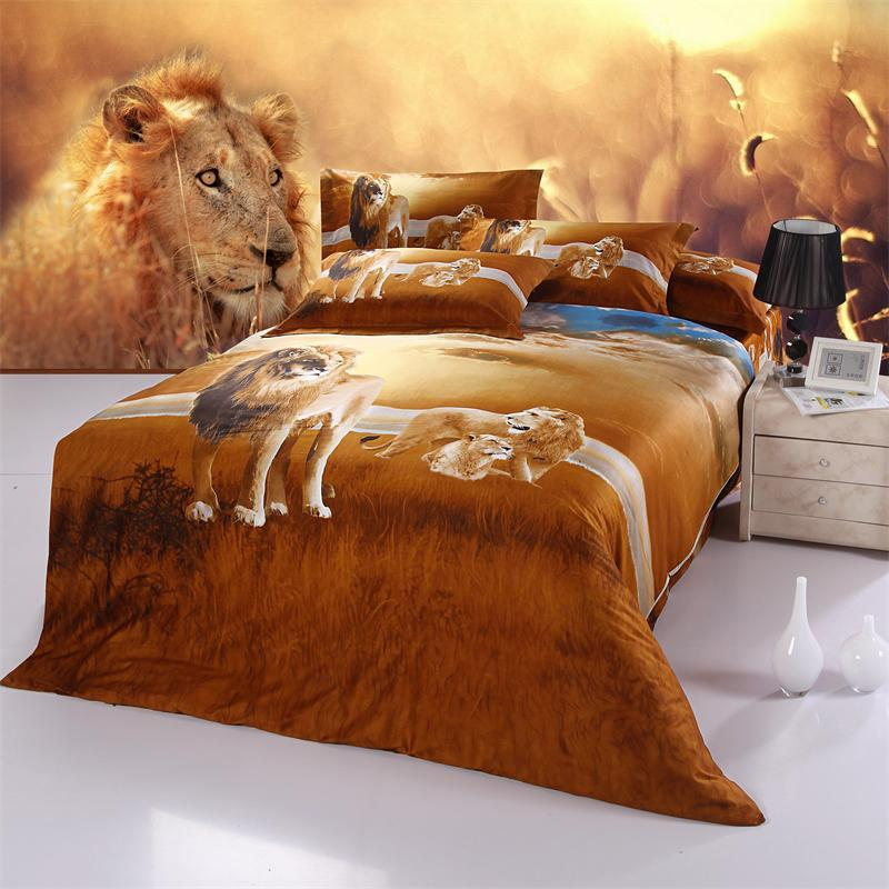 Lion King Bed Set Queen