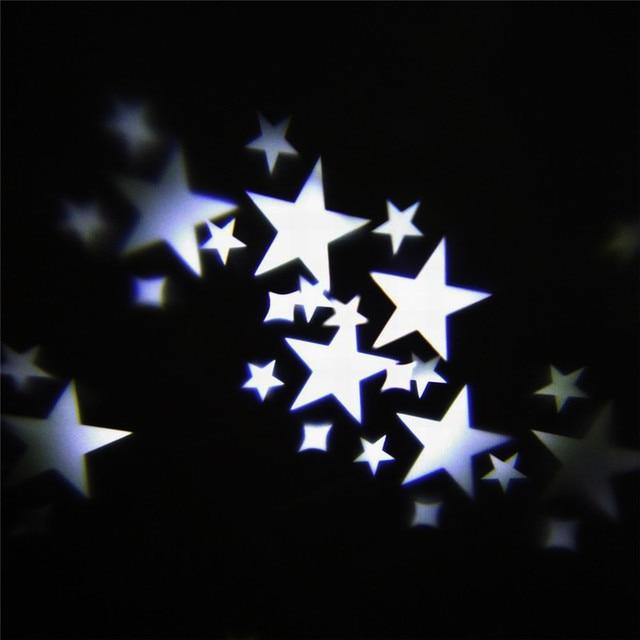 Mini Luz De La Etapa Cabeza Móvil Mariposa Estrellas Corazones Copos