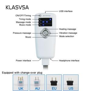 Image 5 - KLASVSA Электрическое отопление шеи массаж головы шлем давление воздуха вибрационная терапия массажер стимулятор мышц здравоохранения