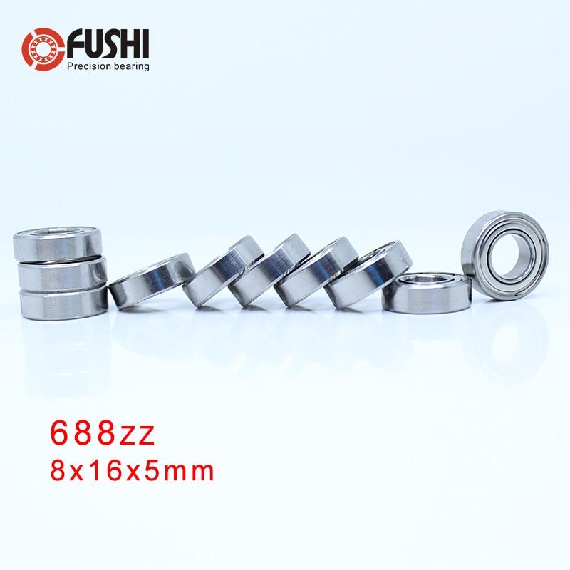 688ZZ ABEC 5 100PCS 8x16x5MM Miniature Ball Bearings 618 8ZZ EMQ Z3V3