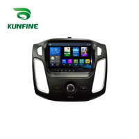 KUNFINE Quad Core 1024*600 Android 6.0 Car DVD GPS Navigation Player Deckless Car Stereo For Ford Focus 2012 Radio Headunit WIFI