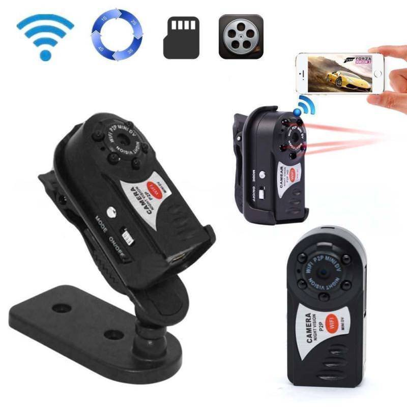8G Card+Mini Wifi Sport Camcorder Video Wireless Recorder DV Camera  Cam Night Vision8G Card+Mini Wifi Sport Camcorder Video Wireless Recorder DV Camera  Cam Night Vision