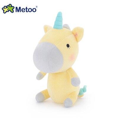5 piezas al por mayor felpa del unicornio muñeca lindo animal peluche unicornio suave almohada bebé niños juguetes regalo de cumpleaños r005
