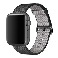 Colorful Woven Nylon Watch Band Fabric Wrist Strap For Apple Watch 42mm Men WatchBands