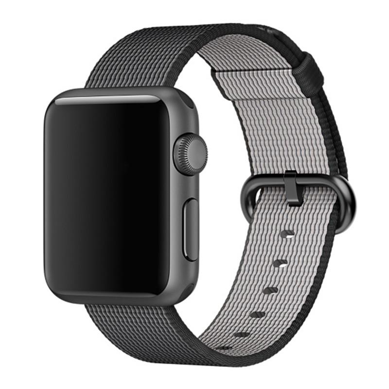Prix pour Sport tissé en nylon de courroie de bande pour apple watch 42mm 38mm poignet braclet ceinture tissu de nylon de type bracelet pour iwatch 2/1/édition