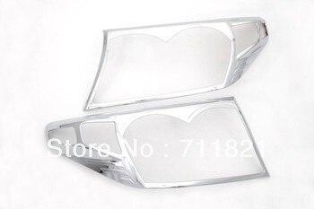 Chrome Copertura Della Luce di Testa Per Toyota Land Cruiser FJ200 2008-2012 Autobizpro Store