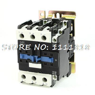 Motor Control AC Contactor AC-3 33KW 80A 3P 3 Poles 110 Volts Coil motor control ac contactor ac 3 37kw 80a 3p 3 pole 110v 120v coil