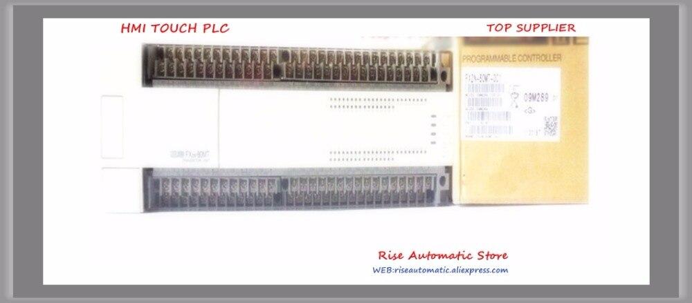 New Original Programmable Logic Controller FX2N-80MT-D PLC Main Unit DI 40 DO 40 Transistor DC 24V plc programmable logic controller for fx2n 64mt 001