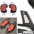 Steering Wheel DSG Paddle Extension Shifters Shifter Sticker Cover for Volkswagen VW Golf GTI & R MK7 * Not for Golf 7 *