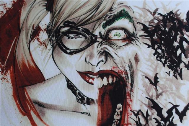 Harley Quinn suicide squad joker t-shirt