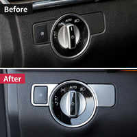 Para Mercedes benz ml350 gl gls x166 sobre las 350d w166 coupe c292 amg un w176 B W246 La CIA C117 glk x204 faros interruptor de botón trim