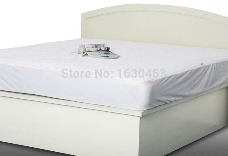 180x186x43cm Luxury Tencel Waterproof Mattress Protector Cover For Bed Wetting And Bed Bug Russian Mattress