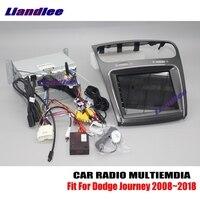 Liandlee Dla Dodge Journey 2008 ~ 2018 Android Radio Samochodowe CD Odtwarzacz DVD GPS Navi Nawigacji Mapy Kamery OBD TV ekran Multimedialny