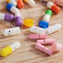 50 шт. милые капсулы с выражением любви таблетки положить в желаний дрейф бутылки влюбленных подарок любовное сообщение Письмо Бумага для детей