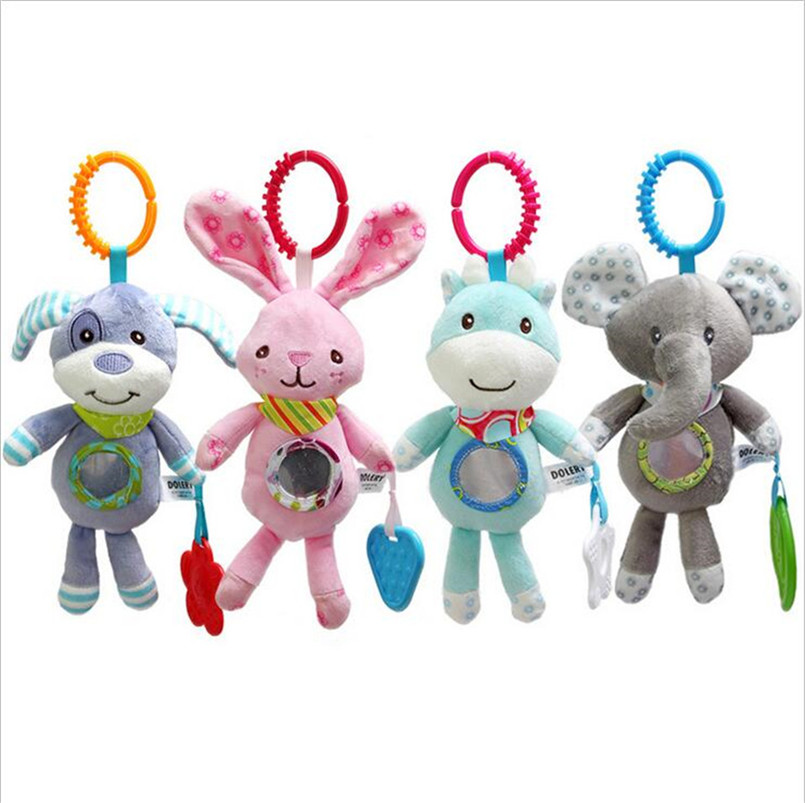 Baby Toys Baby Rattle Toys Stroller Hanging Rattles Educational Toys Rattle Bed Bell For Baby 0-12 Month