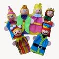 La familia real actuaciones cuentacuentos incluso dedo marioneta de dedo muñeca bebé vivero niño regalo de Navidad