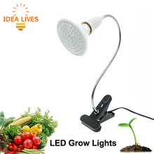 LED Grow Light with 360 Degrees Flexible Lamp Holder Clip LED Plant Growth Light for Indoor or Desktop Plants